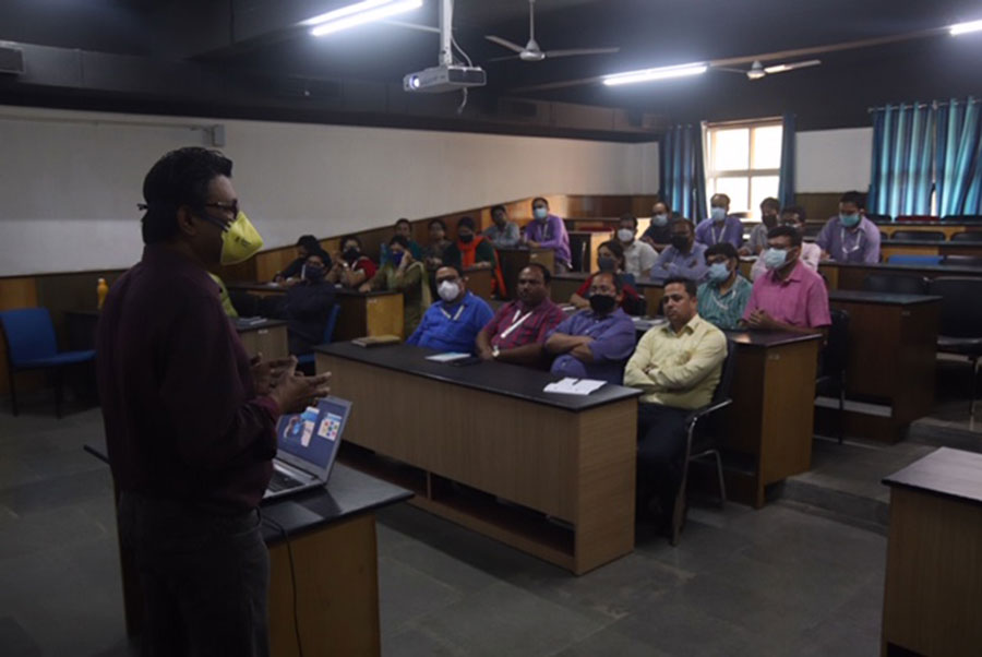 ADAMAS UNIVERSITY - Sharing all four objectives of Tuning India Project including formulating meta profiles and designing the degree program in Medicine.