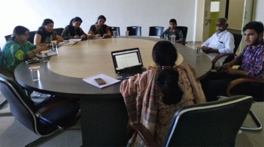 Activity : Board of studies meeting. We design the curriculum according to tuning India