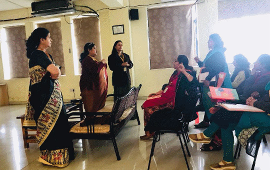 Activity- : Faculty Meeting on Tuning India- Student's learning guide