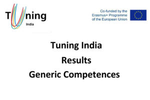 Tuning India Results Generic Competences