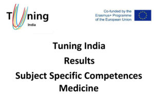 Tuning India Results Subject Specific Competences Medicine