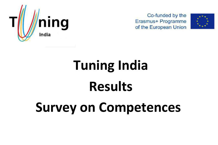 Tuning India Results Survey on Competences