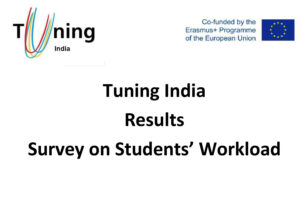 Tuning India Results Survey on Students' Workload