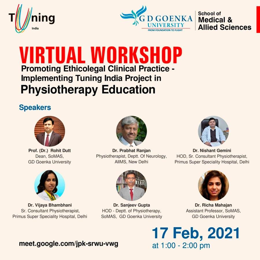 Virtual Workshop GD Goenka University
